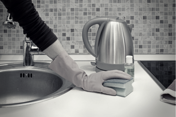 How to get ride of germs in your kitchen