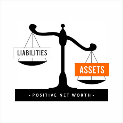 Positive net worth